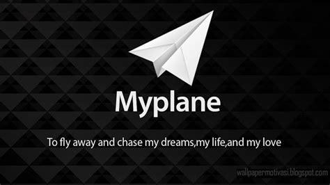 kata kata indah bergambar  plane  fly   chase
