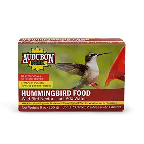 audubon park 1661 hummingbird food nectar powder 9 ounce
