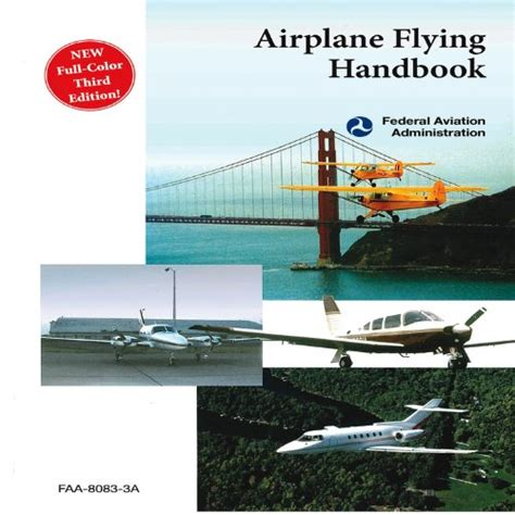 airplane flying handbook faa h 8083 3b faa handbooks series books learn to fly go to flight school get a pilot s