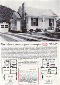 Aladdin Homes Floor Plans late bungalow style 1940 aladdin newport mid century