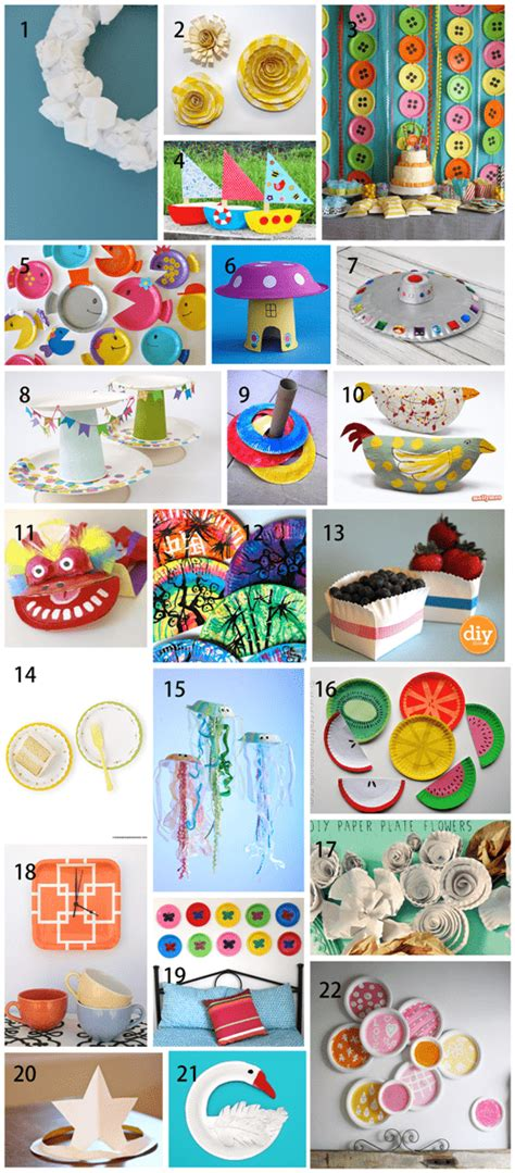 Things You Can Make With Paper - 22 paper plate crafts for and adults