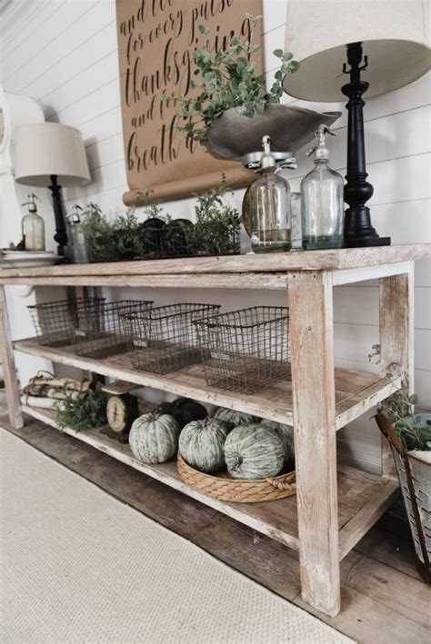 diy buffet table diy farmhouse style buffet