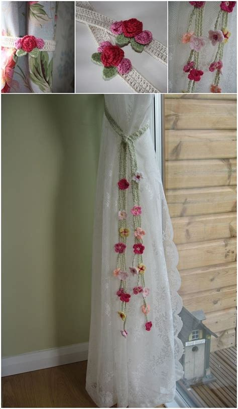 flower tie backs for curtains 25 best ideas about curtain ties on pinterest diy