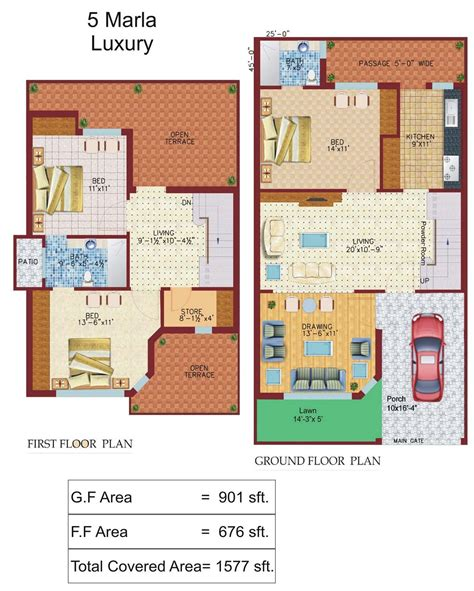 3d home design 5 marla 5 marla luxury p civil engineers pk