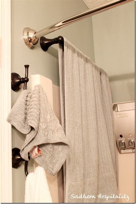 where to put towel bar in small bathroom peerless bathroom hardware