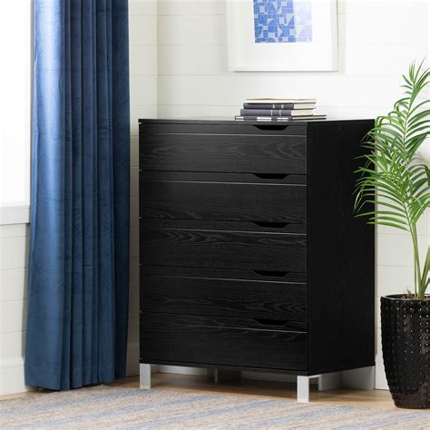 south shore 5 drawer chest walmart south shore kanagane 5 drawer chest finishes