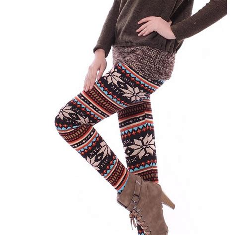 express pattern leggings knitted multi patterns comfortable legging 2015 new casual