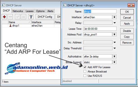 cara membuat vpn di mikrotik rb750 cara blokir user dengan dhcp mikrotik maidah sari