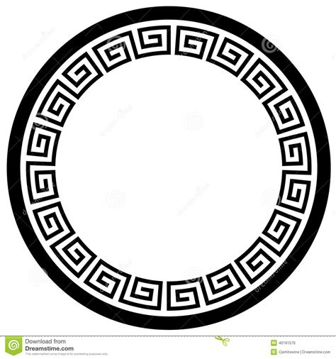 chinese pattern frame vector 7 round decorative frame vector images floral decorative