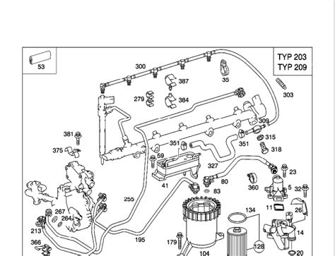 i a mercedes c270cdi 2003 what is the name of the part