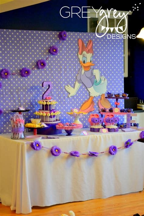 Daisy Duck  Ee  Birthday Ee   Party Project Nursery