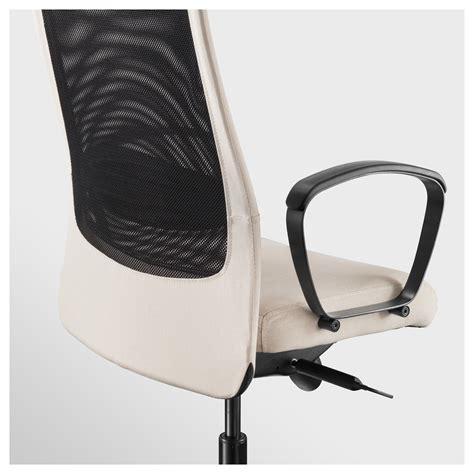 Markus Swivel Chair Vissle Beige Ikea Markus Swivel Chair