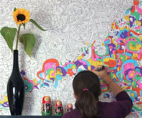 coloring book wallpaper color in wallpaper dudeiwantthat