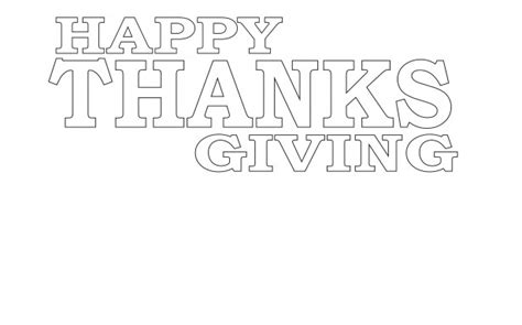 happy thanksgiving coloring free stock photo public domain pictures