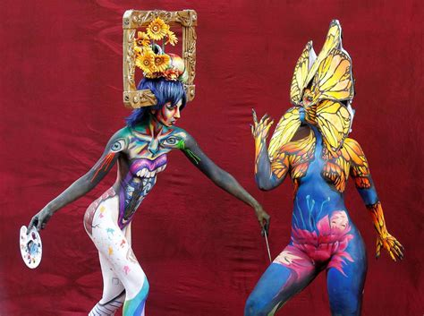 world bodypainting festival gallery in photos world bodypainting festival the globe and mail