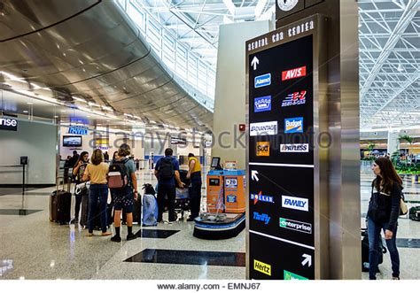 Port St Car Rental by Rental Car Center Stock Photos Rental Car Center Stock Images Alamy