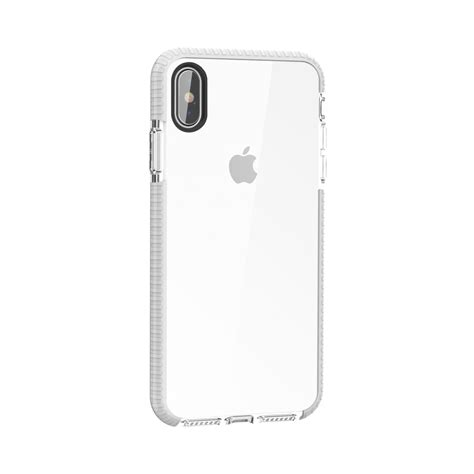 highly transparent soft tpu for iphone xs max white alexnld