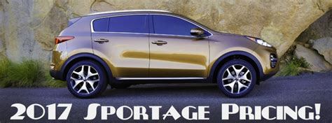 How Much Is A Kia How Much Does The 2017 Kia Sportage Cost
