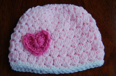 heart hat pattern free girl s crochet hat pattern with heart
