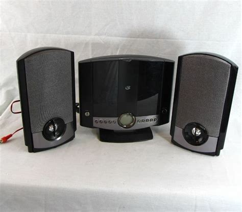 gpx home system gpx hm3817dtbk cd home system am fm radio wall mount