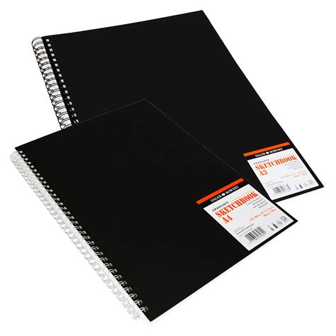 a4 black sketchbook graduate sketchbooks daler rowney