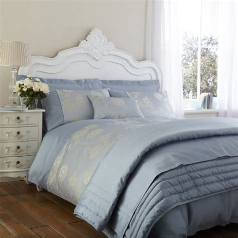 antonia duvet cover in duck egg blue