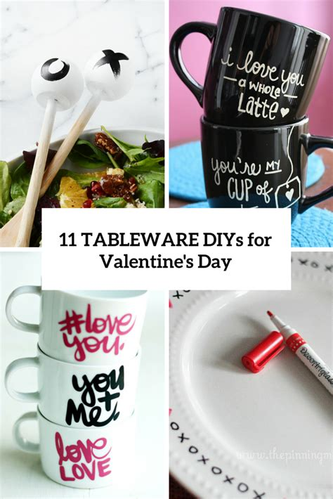 valentines day tableware 11 diy tableware and utensils projects for valentine s day