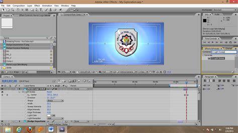 tutorial opening film dengan after effect opening effect dengan menggunakan after effect