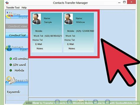 contact 3 from mobile how to transfer contacts from windows mobile phone to pc