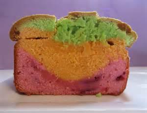 rainbow sherbet inspired pound cake the purple spoon