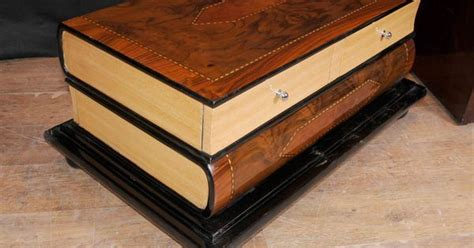 Book Shaped Coffee Table Http Canonburyantiques Cs Deco 1 Deco Coffee Table In The Shape Of Books Large