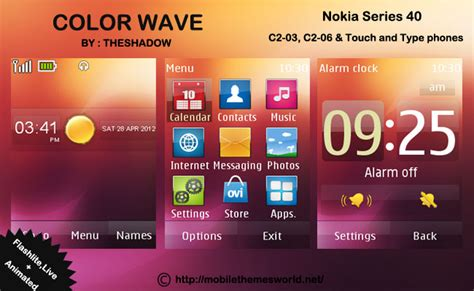 nokia themes download c2 03 free mobile themes download for nokia c2 03