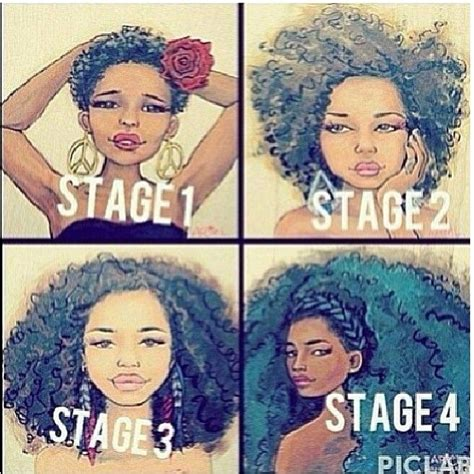 stages of natural hair 4c and me imjessnatural loveaq naturalhair is