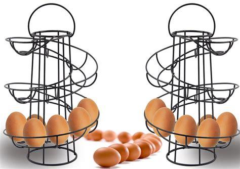 18 egg helter skelter spiral holds holder eggs swiral