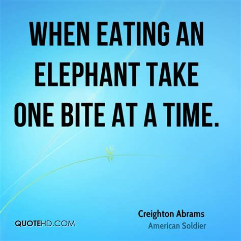 one bite at a time everyday meal plans for fighting cancer disease ibs obesity and other ailments books creighton abrams quotes quotehd