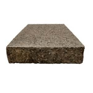 Decorative Concrete Blocks Home Depot by Basalite 10 In X 12 In Concrete Split Face Wall Cap