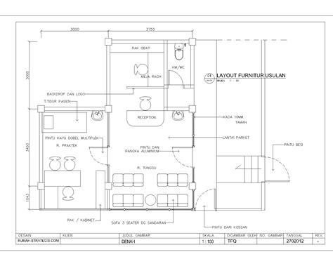 layout toko obat tfq architects penawaran pembuatan klinik margonda depok
