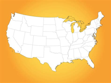 usa map vector art graphics freevectorcom