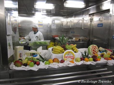 Cold Kitchen by Backstage Traveler Galley Tour Aboard America