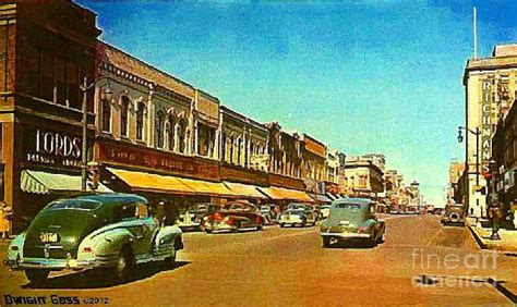 store wi kresge s department store in oshkosh wi in 1950 painting