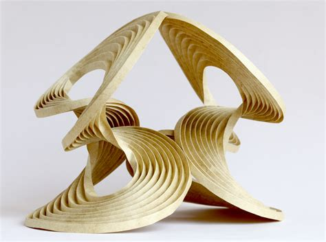 Erik Demaine Origami - pushing to the limit 2009 curved crease