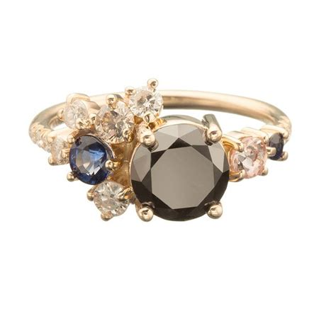 Imperial Topaz 12 23ct 17 best ideas about cluster ring on pretty