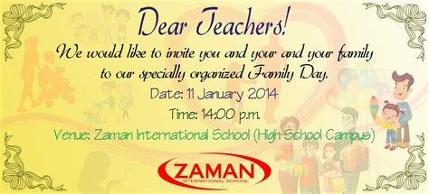 teachers day invitation card templates teachers day invitation card templates 1 images