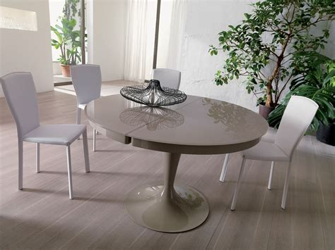 tavolo eclipse di ozzio design tavolo allungabile da pranzo rotondo eclipse by ozzio