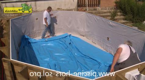 liner piscine hors sol 1655 le montage d une piscine hors sol en bois