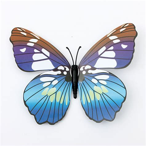 new 12pcs 3d butterfly magnet 12pcs 3d butterfly wall stickers fridge magnet for home