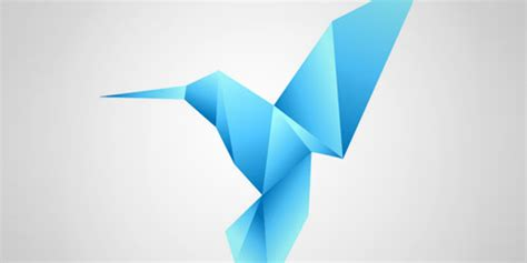 Origami Logo Tutorial - 30 useful logo design tutorials for photoshop and
