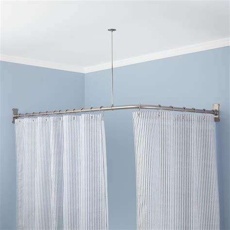 clawfoot shower curtain rod fresh clawfoot tub shower curtain rod diy 18475
