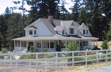 Wrap Around Porch House Plans One Story by Single Story Ranch Style House Plans With Wrap Around