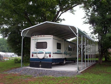 trailer garage carport metal portable carports